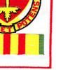320th Airborne Field Artillery Battalion Patch Vietnam | Lower Right Quadrant