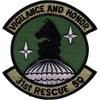 31st Rescue Squadron Patch