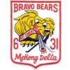 31st Infantry Regiment Patch Bravo Bears