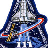 SP-141 NASA STS-111 Space Shuttle Endeavour Mission To ISS Patch   Center Detail