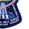 SP-141 NASA STS-111 Space Shuttle Endeavour Mission To ISS Patch   Lower Right Quadrant