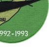 Somalia Veteran 1992-1993 Mogadishu Patch Blackhawk Down Helicopter   Lower Right Quadrant