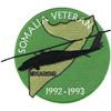 Somalia Veteran 1992-1993 Mogadishu Patch Blackhawk Down Helicopter