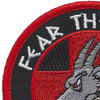 31st AMDS Fear The Goat Patch | Upper Left Quadrant