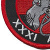 31st AMDS Fear The Goat Patch | Lower Left Quadrant