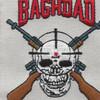 Sniper Team Bagdad Patch   Center Detail