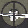 Sniper Mobile Riverine Force OD Green Patch   Center Detail