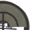 Sniper Mobile Riverine Force OD Green Patch   Upper Right Quadrant