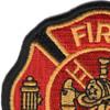 Small Fire Department Patch | Upper Left Quadrant