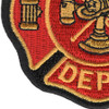 Small Fire Department Patch | Lower Left Quadrant