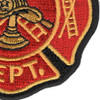 Small Fire Department Patch | Lower Right Quadrant