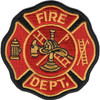 Small Fire Department Patch