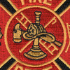 Small Fire Department Patch | Center Detail