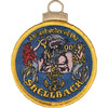 Shellback Ancient Order Embroidered Christmas Tree Ornament