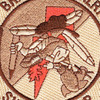 2nd Squadron 6th Aviation Air Cavalry Regiment B Troop Patch Desert | Center Detail
