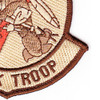 2nd Squadron 6th Aviation Air Cavalry Regiment B Troop Patch Desert | Lower Right Quadrant