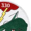 World War II 330th Bombardment Squadron Patch   Upper Right Quadrant
