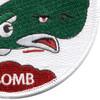 World War II 330th Bombardment Squadron Patch   Lower Right Quadrant
