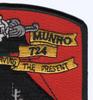 WHEC-724 Munro High Endurance Cutter Patch