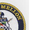 WHEC-717 Mellon Hamilton Class High Endurance Cutter Patch | Upper Right Quadrant