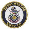 WHEC-717 Mellon Hamilton Class High Endurance Cutter Patch