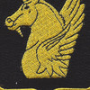 317th Cavalry Regiment Patch | Center Detail