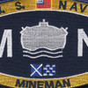 Weapons Specialties Rating Mineman Patch   Center Detail