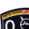 Weapons Specialist Rating Submarine Operations Specialist Patch | Upper Left Quadrant