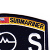 Weapons Specialist Rating Submarine Operations Specialist Patch | Upper Right Quadrant