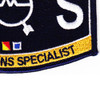 Weapons Specialist Rating Submarine Operations Specialist Patch | Lower Right Quadrant