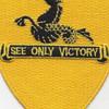 315th Cavalry Regiment Patch | Center Detail