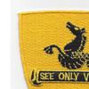315th Cavalry Regiment Patch | Upper Left Quadrant