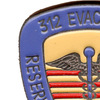 312 Evachosp Medical Evacuation Hospital Pin | Upper Left Quadrant