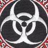 Zombie Outbreak Response Team Patch Hook And Loop | Center Detail