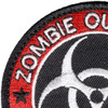 Zombie Outbreak Response Team Patch Hook And Loop | Upper Left Quadrant