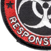Zombie Outbreak Response Team Patch Hook And Loop | Lower Left Quadrant