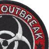 Zombie Outbreak Response Team Patch | Upper Right Quadrant