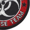 Zombie Outbreak Response Team Patch | Lower Right Quadrant
