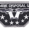 Zombie Disposal Unit Patch Hook And Loop | Center Detail