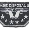 Zombie Disposal Unit Patch | Center Detail