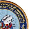 30th Naval Construction Regiment Patch United States Pacific Fleet | Upper Right Quadrant