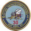 30th Naval Construction Regiment Detachment Diego Garcia Patch