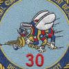 30th Naval Construction Regiment Detachment Diego Garcia Patch | Center Detail