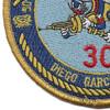 30th Naval Construction Regiment Detachment Diego Garcia Patch | Lower Left Quadrant
