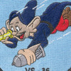 VS-36 Aviation Air Anti-Submarine Squadron Thirty Six Patch Dopey WWII | Center Detail
