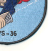 VS-36 Aviation Air Anti-Submarine Squadron Thirty Six Patch Dopey WWII | Lower Right Quadrant