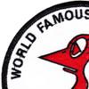 VS-33 Patch World Famous Screwbirds | Upper Left Quadrant
