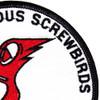 VS-33 Patch World Famous Screwbirds | Upper Right Quadrant