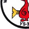 VS-33 Patch World Famous Screwbirds | Lower Left Quadrant