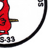 VS-33 Patch World Famous Screwbirds | Lower Right Quadrant
